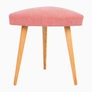 Tripod Seat with Powder Upholstery