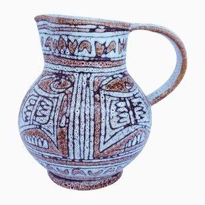 Glasierter Keramik Krug
