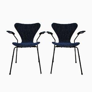 Series 7 3270 Armchairs by Arne Jacobsen for Fritz Hansen, 1963, Set of 2