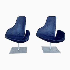Fjord Swivel Chairs by Patricia Urquiola for Moroso, 2000s, Set of 2