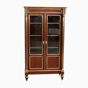 Small Louis XVI Style 2-Door Bookcase, Late 19th Century