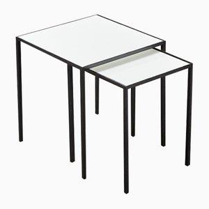 Tables Gigognes Minimalistes par Floris Fiedeldij pour Artimeta, 1950s, Set de 2