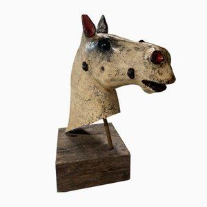 19th Century Rocking Horse Head