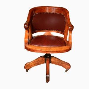 Chaise de Bureau en Acajou