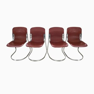 Model C2 Style Chairs, 1970, Set of 4