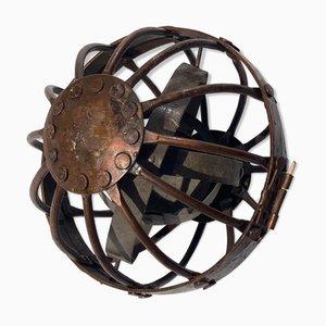 Gyroskopische Gimbal Whale Öllampe