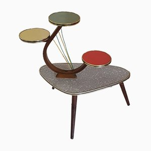 Formica Plant Stand, 1950s