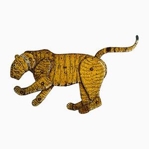 Grand Tigre Antique en Acier, Inde