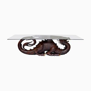Mahogany Dragon 12 Person Dining Table by Neil Busby