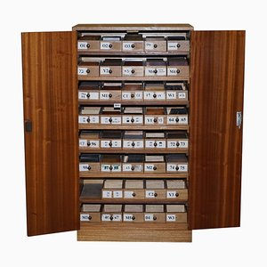 Wooden Timber Sample Cabinet from Bevan Funnell