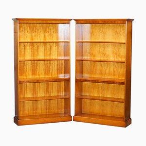 Bücherregale mit Höhenverstellbaren Regalen, 2er Set