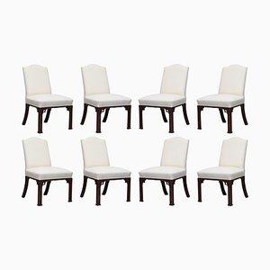 Handgefertigte Chippendale Ornished Carved Gainsborough Stühle, 8er Set