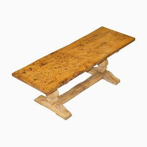 Viktorianischer One Plank Top Refectory Esstisch