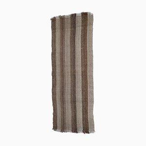 Vintage Striped Kilim Wall Hanging or Throw Rug