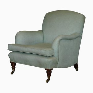 Fully Stamped Bridgewater Armchair on Castors from Howard & Sons