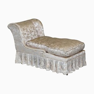 Fully Stamped Daybed or Chaise Longue from Howard & Sons, Berners Street