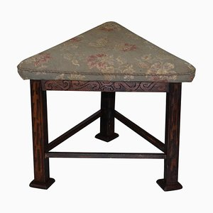 Victorian Triangle Hunting Stool from Buckeburg Castle, Germany, 1860s