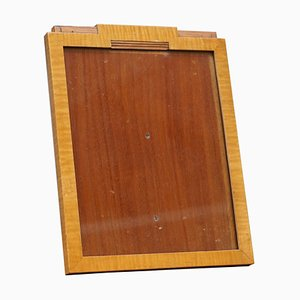 Art Deco Satinwood Picture Frame from Asprey London