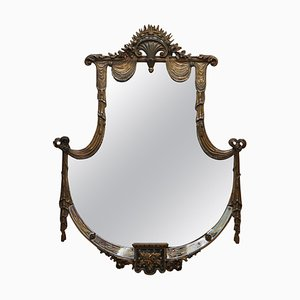 Large Late 19th Century Giltwood Mirror