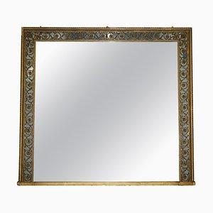 Viktorianischer Mercury Spiegel aus Spiegelglas von Charles Nosotti, 1860er