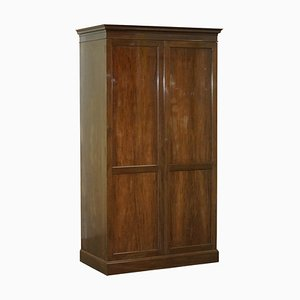 Victorian Solid Stained Oak and Hardwood Wardrobe