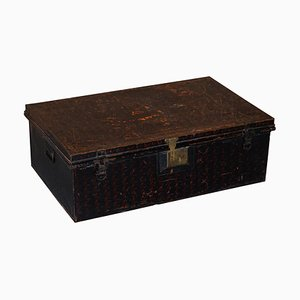 Owomeji Military Campaign Chest in Metal from Jones Brothers