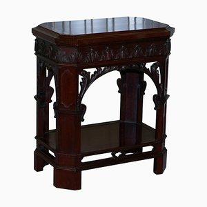 Hardwood Revolving Display Stand from Morrison & Co Edinburgh, 1840s
