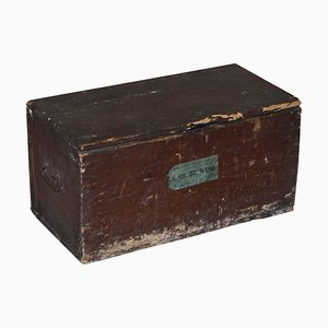 8th Battalion Wing Military Campaign Chest Trunk, 1939-1945
