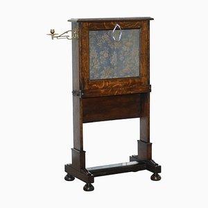 Früher viktorianischer Schreibtisch aus Eiche