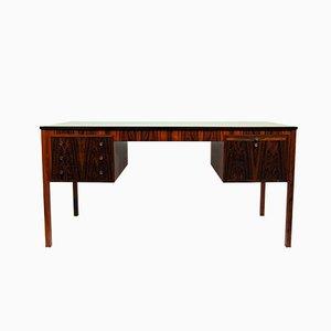 Rosewood Desk by Erik Wørts for Henrik Wørts Møbelsnedkeri, 1960s
