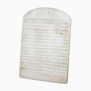 Spanisches Waschbrett aus massivem Marmor, 19. Jh