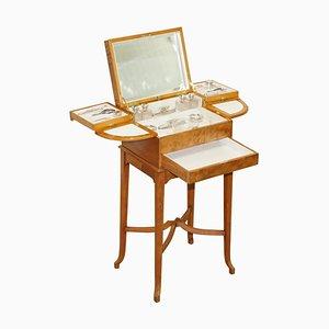 Art Deco Metamorphic Dressing Table Sterling Silver Set from George Betjemann & Sons