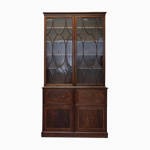 George III Hardwood Library Bookcase, 1800s