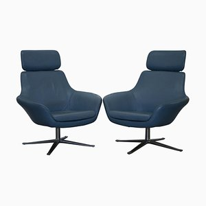 Leather Armchairs by Pearson Lloyd, Set of 2