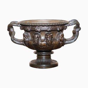 Bronze Warwick Vase, 1880er