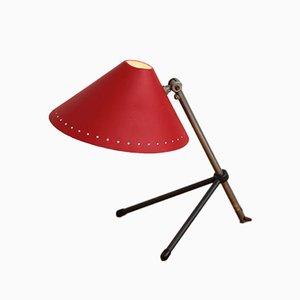 Pinocchio Tischlampe von H. Busquet für Hala, 1950er