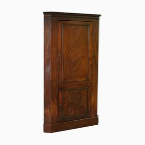 Solid Hardwood Corner Cupboard, 1760s