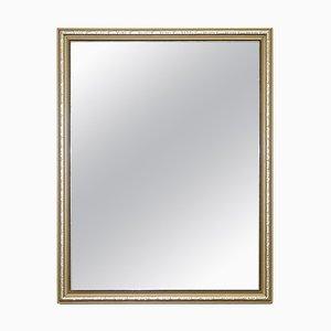 Französischer Vintage Spiegel mit vergoldetem & versilbertem Rahmen