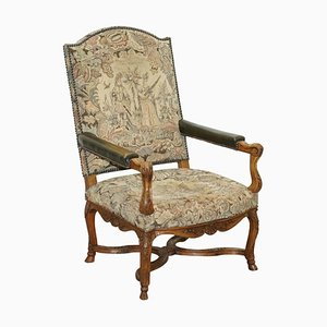 19th Century French Embroidered Armchair