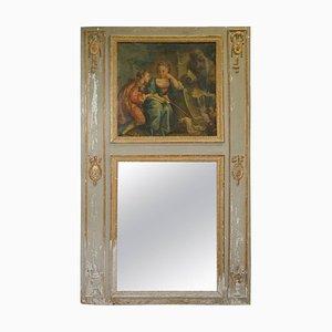 French Louis XVI Trumeau Mirror, 1760s