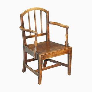 Primitive Carver Armchair, 1760s