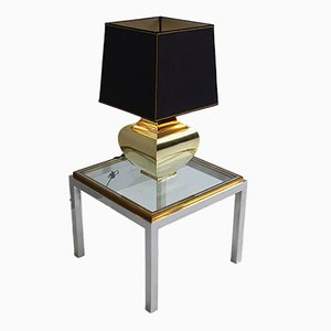 Brass Table Lamp, 1970s