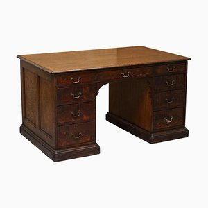 Double Sided Twin Pedestal Partner Desk