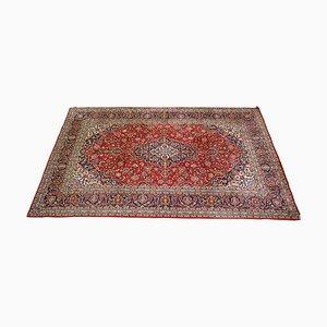 Großer handgeknüpfter floraler Tabriz Teppich