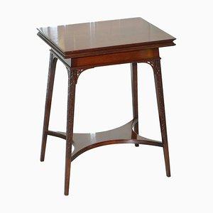 Tavolo da gioco pieghevole in legno di Gillows of Lancaster, fine XVIII secolo