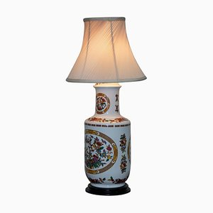 Chinese Decorative Vase Converted Into a Table Lamp