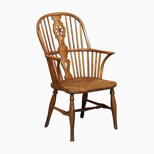 18th Century Ash Windsor Stick Back Armchair by Charles & Ray Eames, 1788
