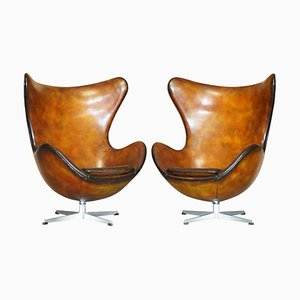 Egg Chairs, 1963, Set of 2