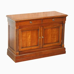 Large French Cherrywood Sideboard Cupboard with Drawers