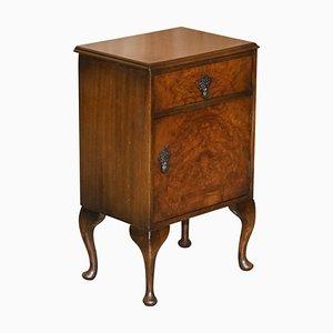 Table de Chevet ou d'Appoint en Noyer de Maple & Co